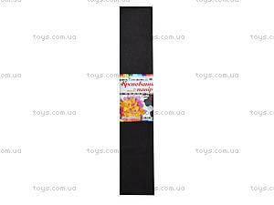 Цветная креповая бумага, темно-серая, 10700614, цена