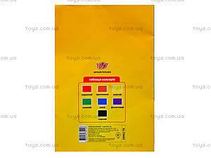 Бумага цветная TIKI, 14 листов, 50902-TK, отзывы