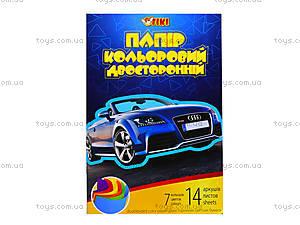 Цветная бумага А4, 14 листов, 50909-TK, цена