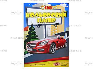 Цветная бумага А4, 24 листов, 50903-TK, цена