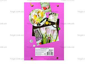 Папка для труда A4 «Цветы», 51704-TK, купить