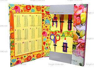 Папка для труда A4 «Цветы», 51704-TK, фото