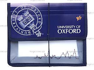 Папка для тетрадей на резинке «Оксфорд», 491031