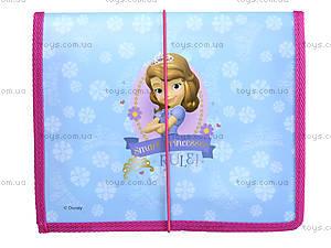 Пластиковая папка для тетрадей «Принцесса София», 491033, купить