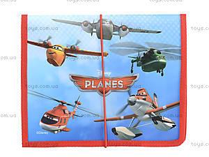 Папка для тетрадей на резинке «Самолетики», 491029, купить