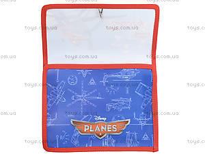 Папка для тетрадей на резинке «Самолетики», 491029, фото