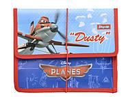 Папка для тетрадей на резинке «Самолетики», 491029, отзывы