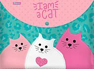 """Папка-конверт на кнопке А4 """"I am a cat"""" 2 шт. в упак, 491836, отзывы"""