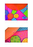 "Папка-конверт на кнопке А4 ""Happy colors"" (2 штуки в упаковке), 491339, тойс"