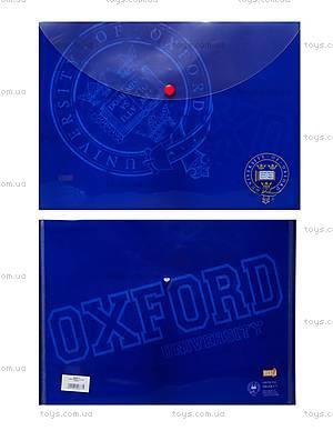 Папка с кнопкой А4 «Оксфорд», 490877