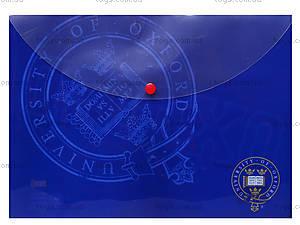 Папка с кнопкой А4 «Оксфорд», 490877, фото