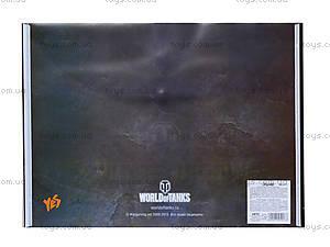 Папка пластиковая А4 «Танчики», 491017, купить