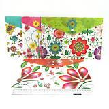 """Папка-конверт с кнопкой """"Цветы"""" mix, 12шт. в упак, 4179IMG, игрушки"""