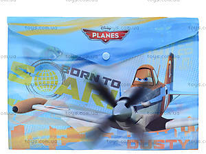 Папка-конверт с застежкой «Аэротачки», PLBB-US1-PLB-EN15