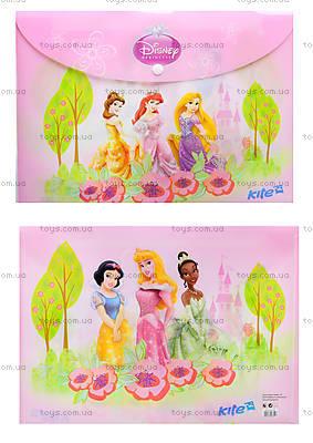 Папка на кнопке Princess, формат А4, P13-200K