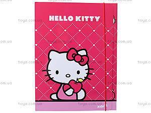 Папка на резинке, А4 Hello Kitty, HK13-211K