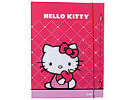 Папка на резинке, А4 Hello Kitty, HK13-211K, фото