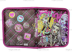 Папка на молнии Monster High, MH13-203K