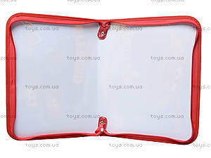 Папка-портфель на молнии «Тачки», 490997, фото