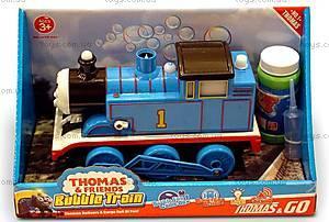 Паравозик с мыльными пузырями Thomas Bubble Train, TT-JAID001