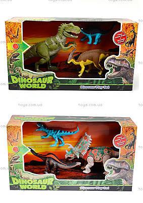 Набор игровых фигурок «Парк с динозаврами», F124-558