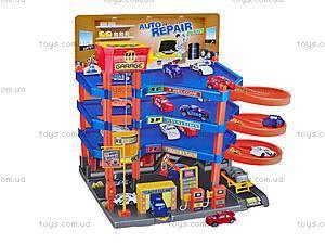 Паркинг 4 этажа с 6 машинками, P8088D, купить