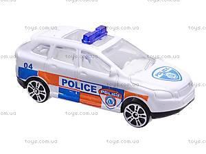 Паркинг игровой для детей «Полиция», 660-131, детские игрушки