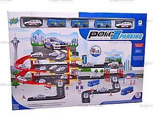 Паркинг игровой для детей «Полиция», 660-131, toys