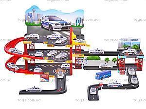 Паркинг игровой для детей «Полиция», 660-131