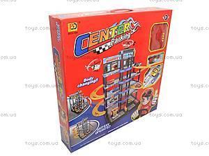 Паркинг игрушечный для детей, 5513-104, отзывы