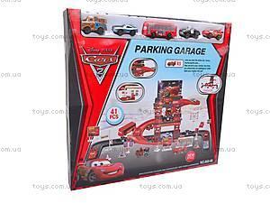 Паркинг игрушечный «Тачки», 660-86, отзывы