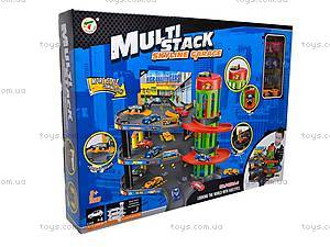 Паркинг Multi Stack, 3 этажа, P4888A-2, toys.com.ua