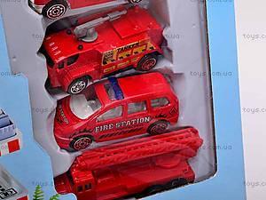 Паркинг «Пожарная полиция» с машинами, 9002A, цена