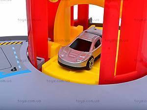 Паркинг с четырьмя машинками, P824-A, детские игрушки