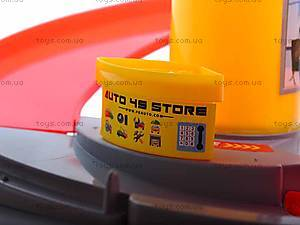 Паркинг с четырьмя машинками, P824-A, toys.com.ua