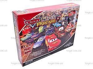 Паркинг с героями «Тачки», P1399, игрушки