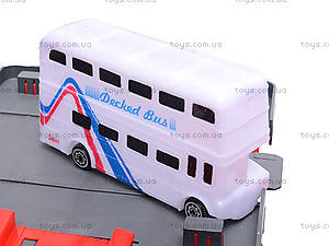 Паркинг, с машинками и автобусом, 660-93, игрушки
