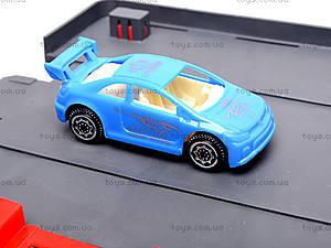Паркинг, с машинками и автобусом, 660-93, детские игрушки
