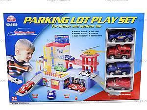 Паркинг с окошком, 9889, магазин игрушек