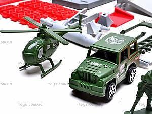 Паркинг с солдатиками, 9886, фото