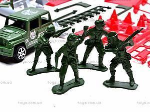 Паркинг с солдатиками, 9886, игрушки