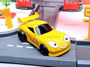 Паркинг с треком «Тачки», P0499, игрушки