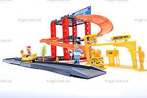 Паркинг с треком «Тачки», P0499, детские игрушки