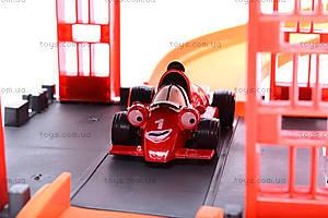 Паркинг с треком «Тачки», P0499, магазин игрушек