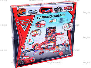 Паркинг «Тачки», с героями мультика, 660-8688, отзывы