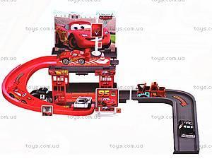 Паркинг «Тачки», с горкой, 660-80, игрушки