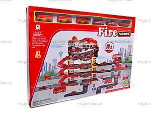 Парковка игрушечная «Пожарная служба», 660-133, цена