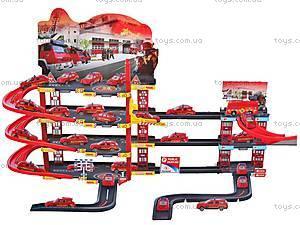 Парковка игрушечная «Пожарная служба», 660-133