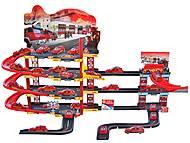 Парковка игрушечная «Пожарная служба», 660-133, магазин игрушек
