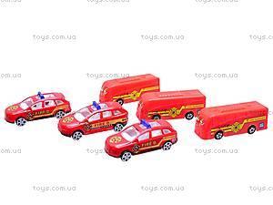 Парковка игрушечная «Пожарная служба», 660-133, игрушки